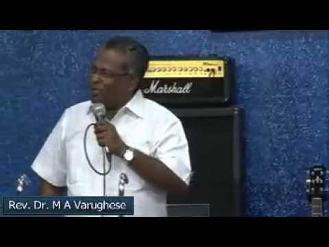 ദൂതന്മാർ -Angels - Malayalam Christian message by Rev  Dr  M A Varughese
