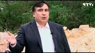 Саакашвили стал ведущим ток-шоу на украинском телеканале