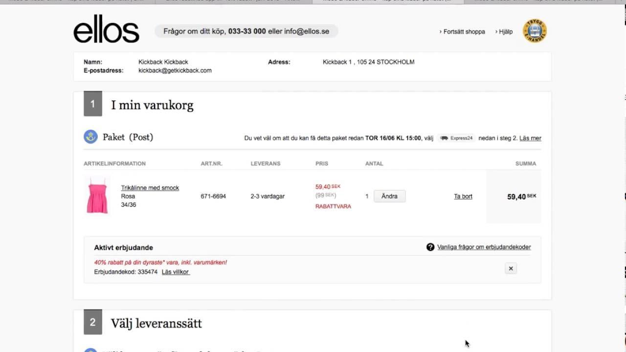 82f797231506 Ellos rabattkod - Spara 20% i juli 2019! - Aftonbladet Rabattkoder