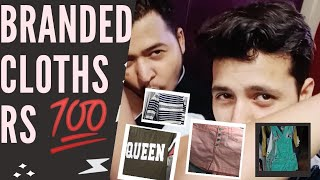 SURPLUS CHEAPEST BRANDED CLOTHES STARTS @Rs100 GIRLS COLLECTION || DMM || dil Mange More
