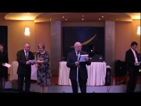 13th European Senior Chess Championship Plovdiv 2013-closing ceremony