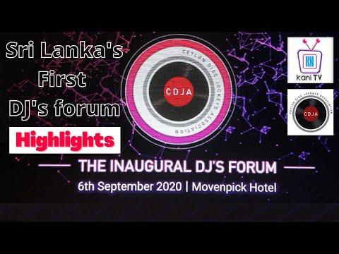 the-inaugural-dj's-forum-2020-highlights-|-media-coverage-by-kani-tv-sri-lanka-#dj_music-#sri_lanka