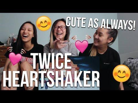 "MV REACTION   TWICE(트와이스) ""Heart Shaker"" M/V"