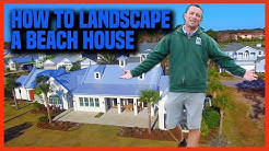 How to Landscape a Beach House | Earth Works Jax