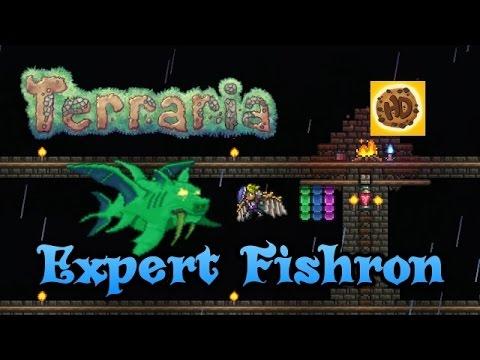 Terraria 1.3 EXPERT DUKE FISHRON Battle Guide | PC | PS4 | XBOX1