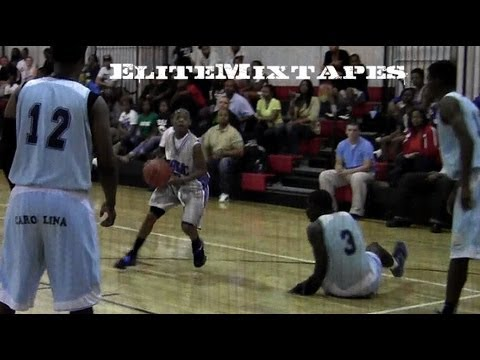 6th Grader Damon Harge Embarrasses High School Defender in AAU Game!