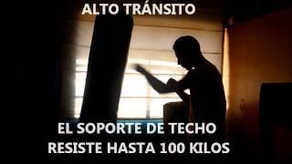 Saco de boxeo con Soporte de techo - OFERTA - FIGHT OUTLET PERU