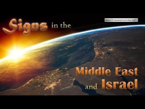 Signs In The Middle East and Israel that God Is In Control!