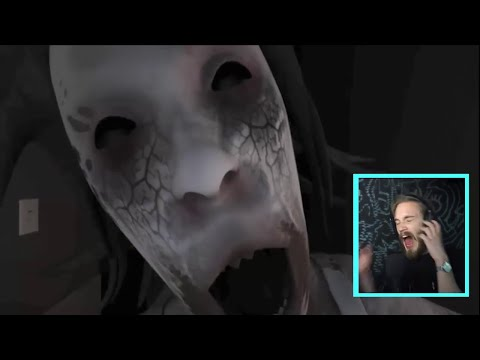 Pewdiepie Funny Jump Scares And Scary Moments From 2016