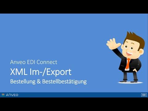 Dynamics NAV XML Import und Export mit Anveo EDI Connect [German]