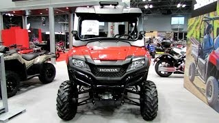 2014 Honda Pioneer 700-4 All Terrain Vehicle Walkaround - 2013 New York Motorcycle Show