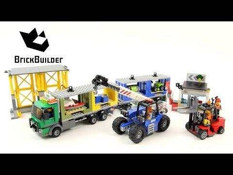 Lego City 60169 Cargo Terminal - Lego Speed Build - YouTube