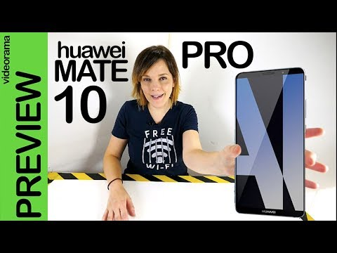 Huawei Mate 10 Pro preview Munich -el móvil NEURONAL con inteligencia artificial-