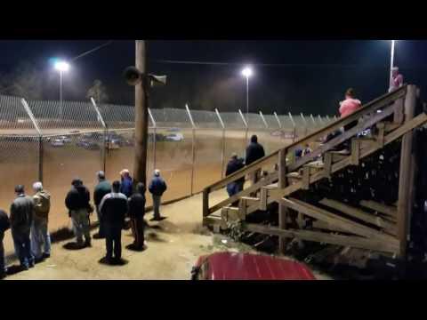 Seca Crate Sportsman Main Harris Speedway 10/29/16