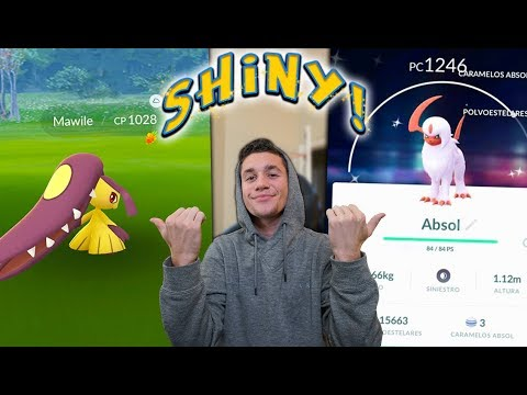 Download Youtube: HOW TO GET SHINY ABSOL & MAWILE IN POKÉMON GO!