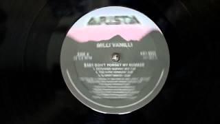 Milli Vanilli - Baby Don