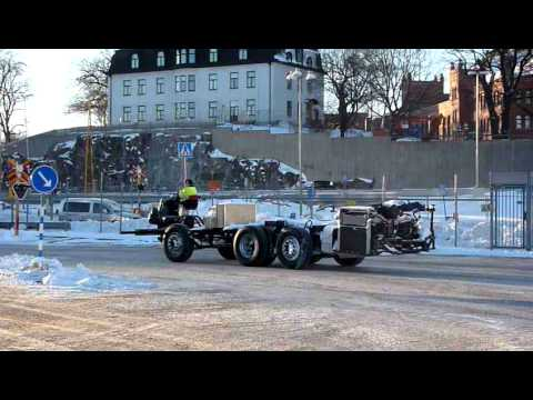 Scania bus chassis