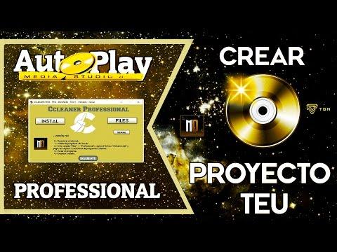 ✘Como Crear TEU Proyecto Professional En ✦Autoplay Media Studio 8✦ 💿