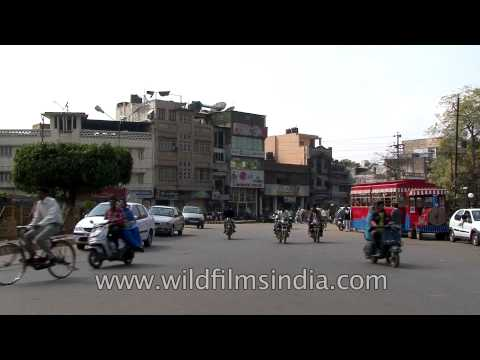 Charming small town of Gwalior