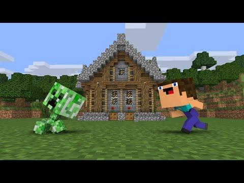 Creeper Encounter - Minecraft Animation (Noob Life Series) - Видео из Майнкрафт (Minecraft)