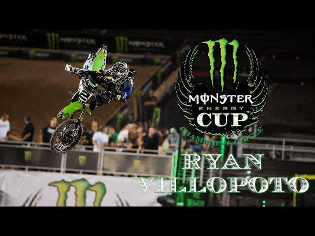 Monster Energy Cup Champions Circle - Ryan Villopoto