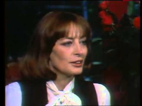 Capucine-Interview on french tv for Bluff (11-11-1976)