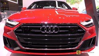 2019 Audi A7 Quattro - Exterior and Interior Walkaround - 2019 NY Auto Show