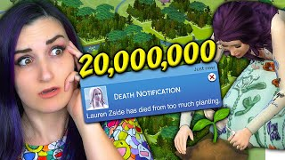 Download Planting 20 MILLION Trees ...in The Sims 4 Until My Sim Dies Mp3 and Videos