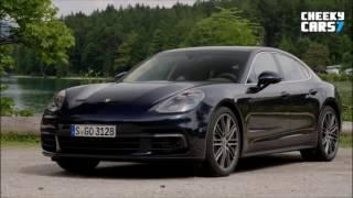 NEW 2017 Porsche Panamera 4S Diesel Test Drive 2016 Interior