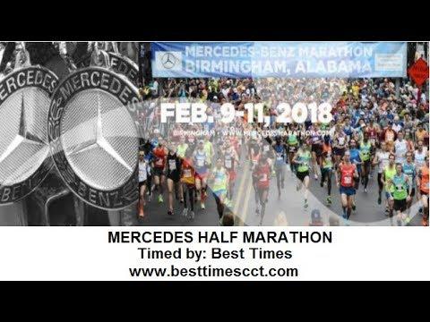 Mercedes half marathon 2018 birmingham al youtube for Mercedes benz marathon birmingham