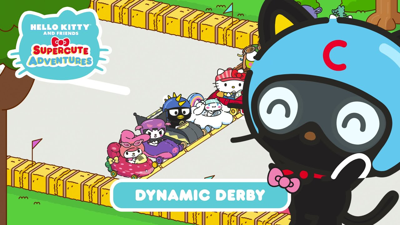 Dynamic Derby | Hello Kitty and Friends Supercute Adventures