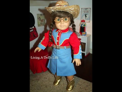 *OPENING* American Girl Doll Molly's Dude Ranch Outfit (etsy)