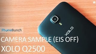 XOLO Q2500 Video Camera Sample with EIS Off