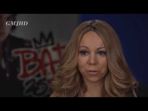 Mariah Carey talks about Michael Jackson (Bad 25)