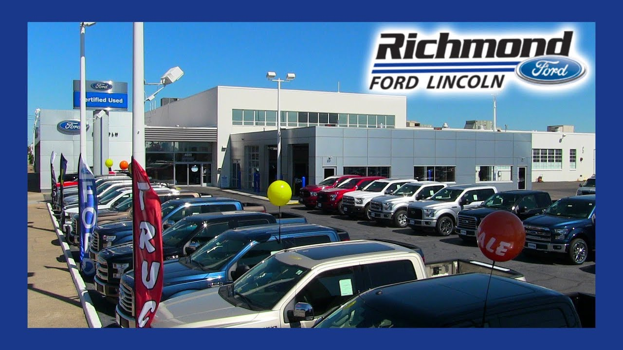 Richmond Ford Lincoln >> Ford Service Center Richmond Va Richmond Ford Lincoln