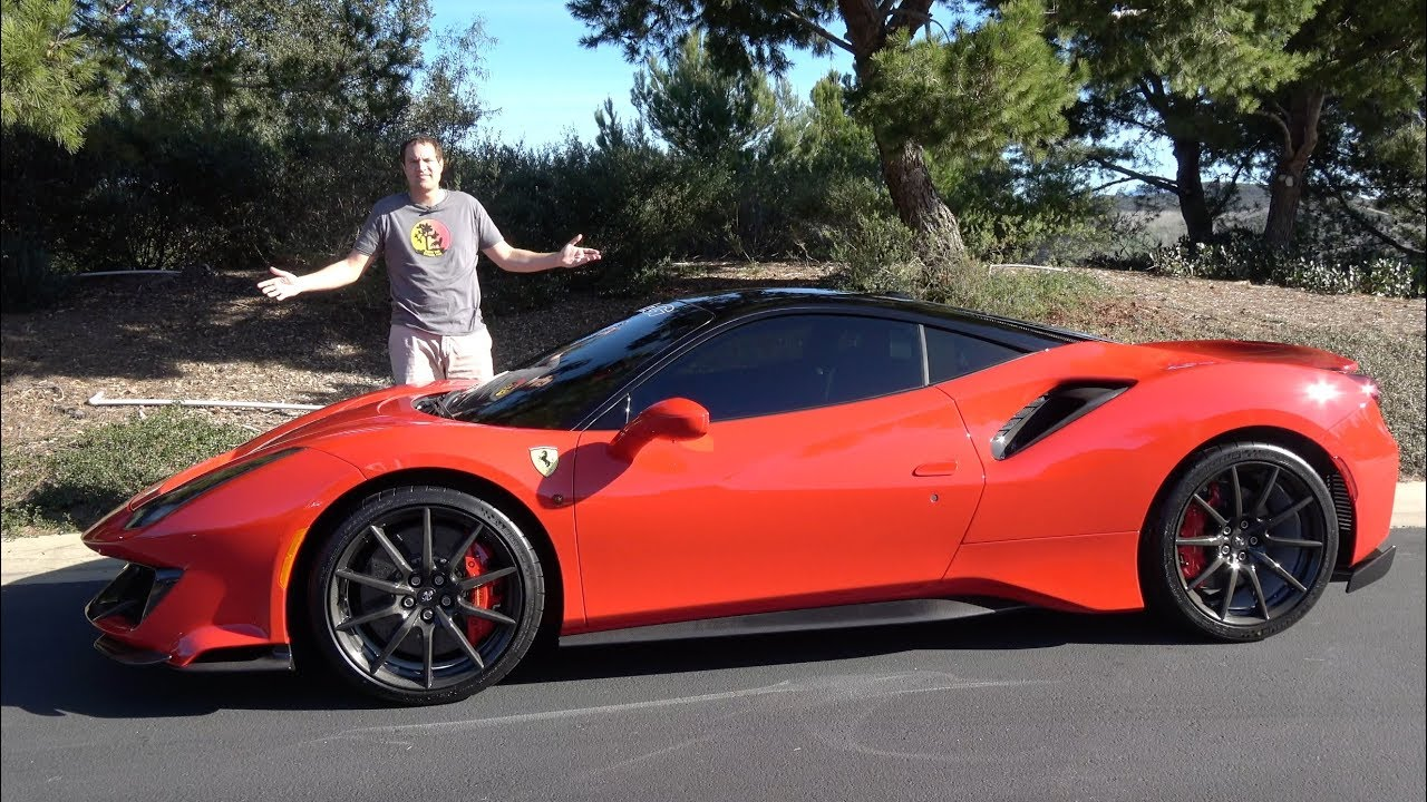 Here's Why The Ferrari 488 Pista Is the Best New Ferrari