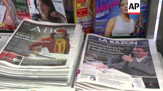 Reax to symbolic poll on Catalonia secession from Spain
