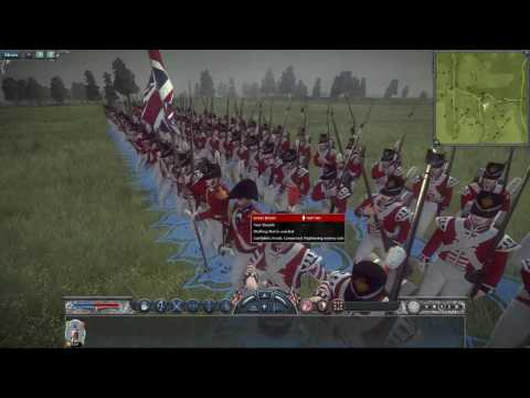 Napoleon Total War   British Elite Foot Guards  VS  French Elite Old Guard