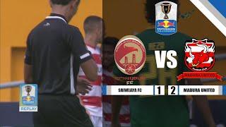 Download Video SRIWIJAYA FC VS MADURA UNITED - Kratingdaeng Piala Indonesia MP3 3GP MP4