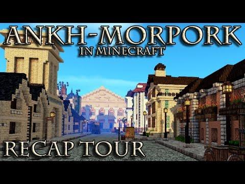 Ankh-Morpork in Minecraft: A Recap Tour