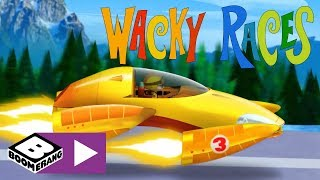 Wacky Races | Engage Turbo Mode | Boomerang UK