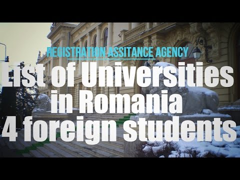 List of Universities in Romania for International Students