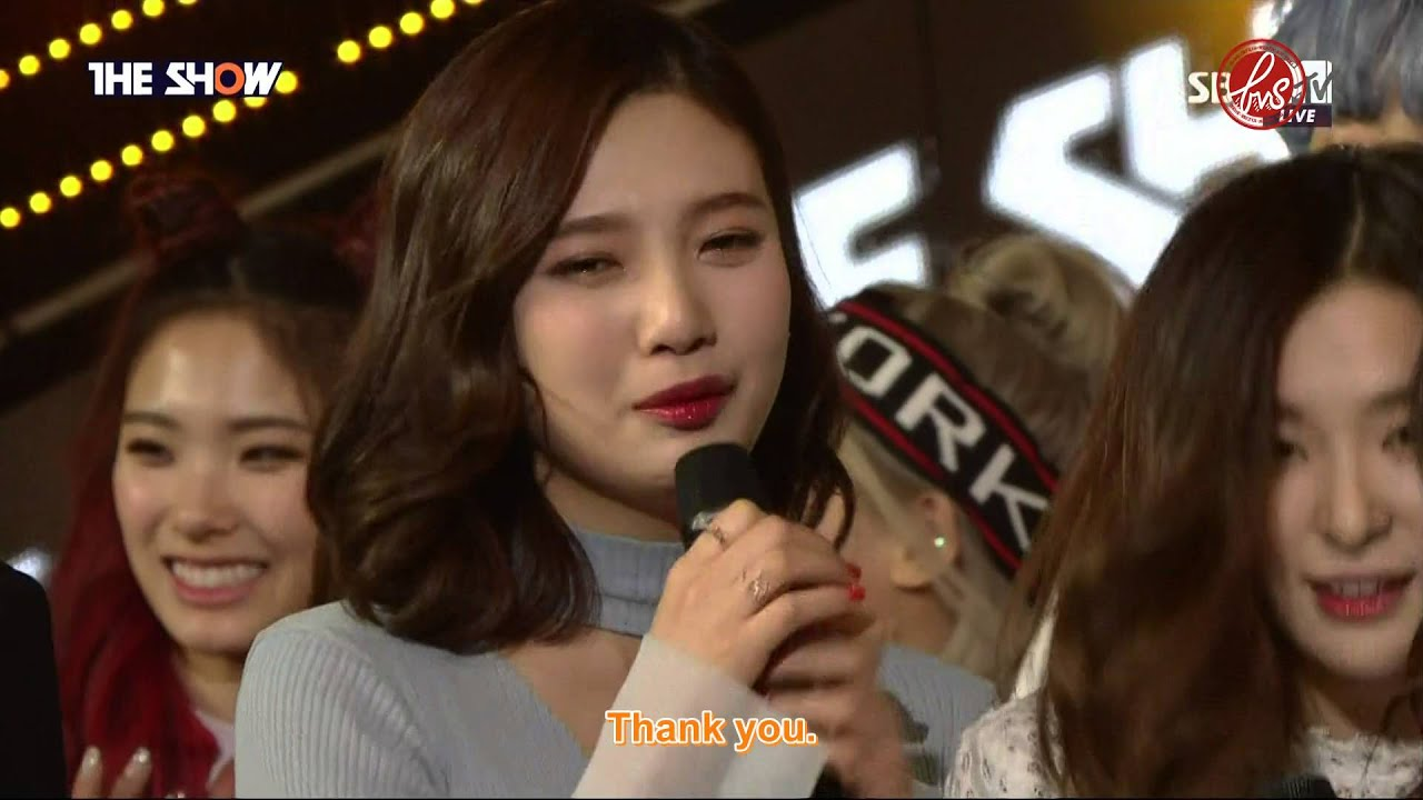 Download [ForVelvetSubs] 160322 THE SHOW 'One Of These Nights' 1st Win - Red Velvet (eng)