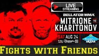Bellator 225 Mitrione vs Kharitonov plus Nick Newell!