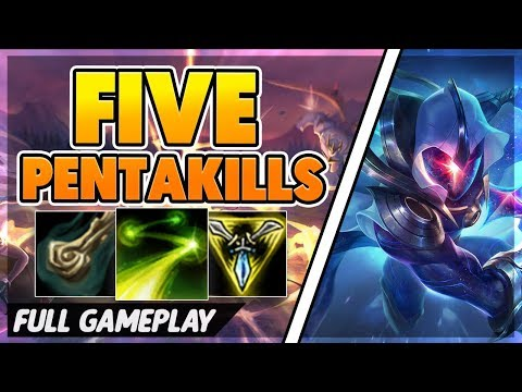 I GET 71 KILLS (FIVE PENTAKILLS) - BunnyFuFuu Full Gameplay