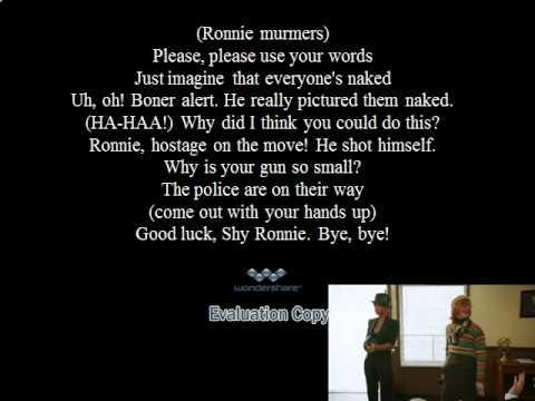 Shy Ronnie 2 Accurate Lyrics