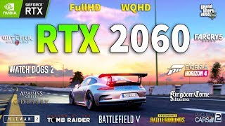 GeForce RTX 2060 Test in 12 Games 1080p and 1440p