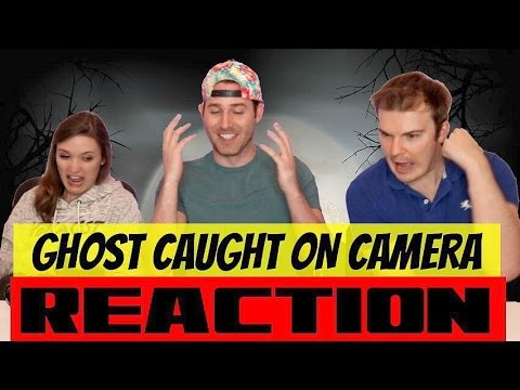 REACTION TO GHOST CAUGHT ON CAMERA // LET'S TALK ABOUT GHOSTS
