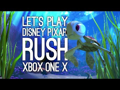 Pixar Rush Finding Dory Xbox One X Gameplay: Let's Play Rush Disney Pixar Adventure in 4k