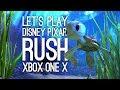 Pixar Rush Finding Dory Xbox One X Gameplay: Let's Play Rush Disney Pixar Adventure in 4k